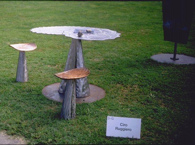 Architetto ciro ruggiero oggetti: tavoli e sgabelli